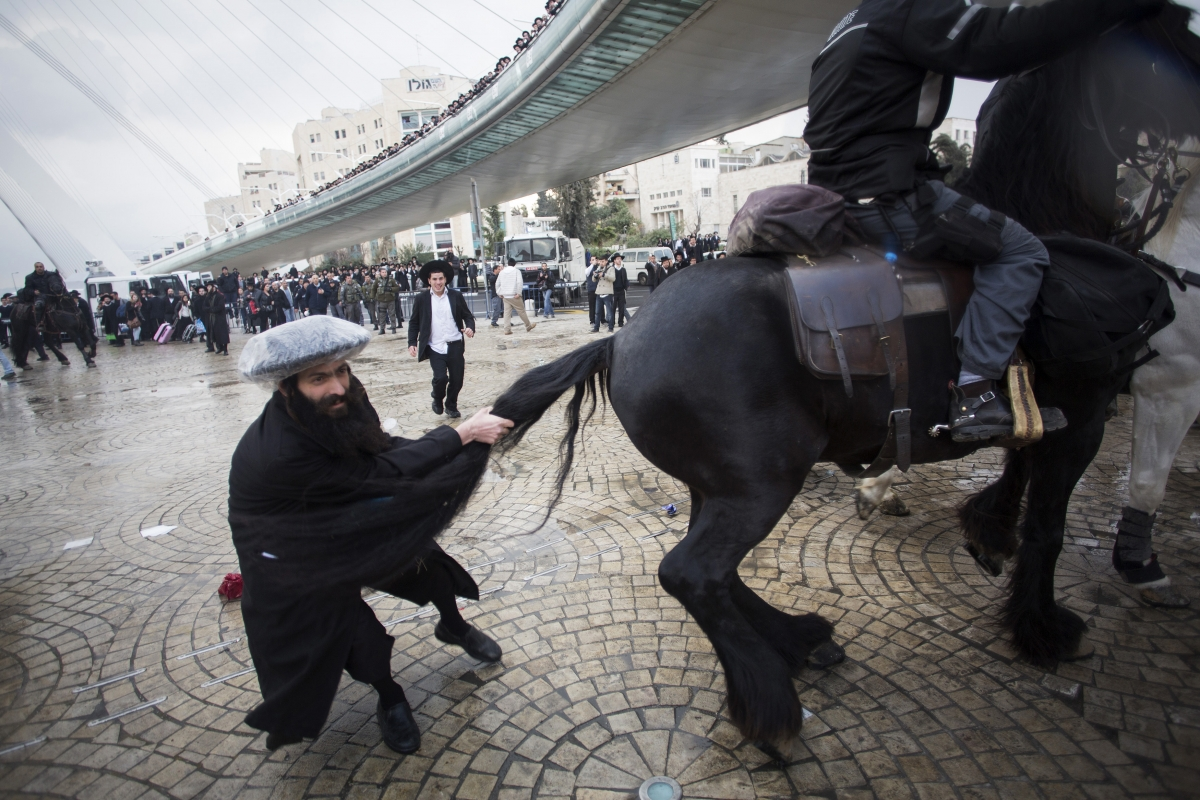ultra-Orthodox protest