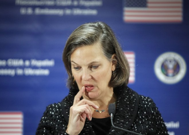 Victoria Nuland's expletive against Eu