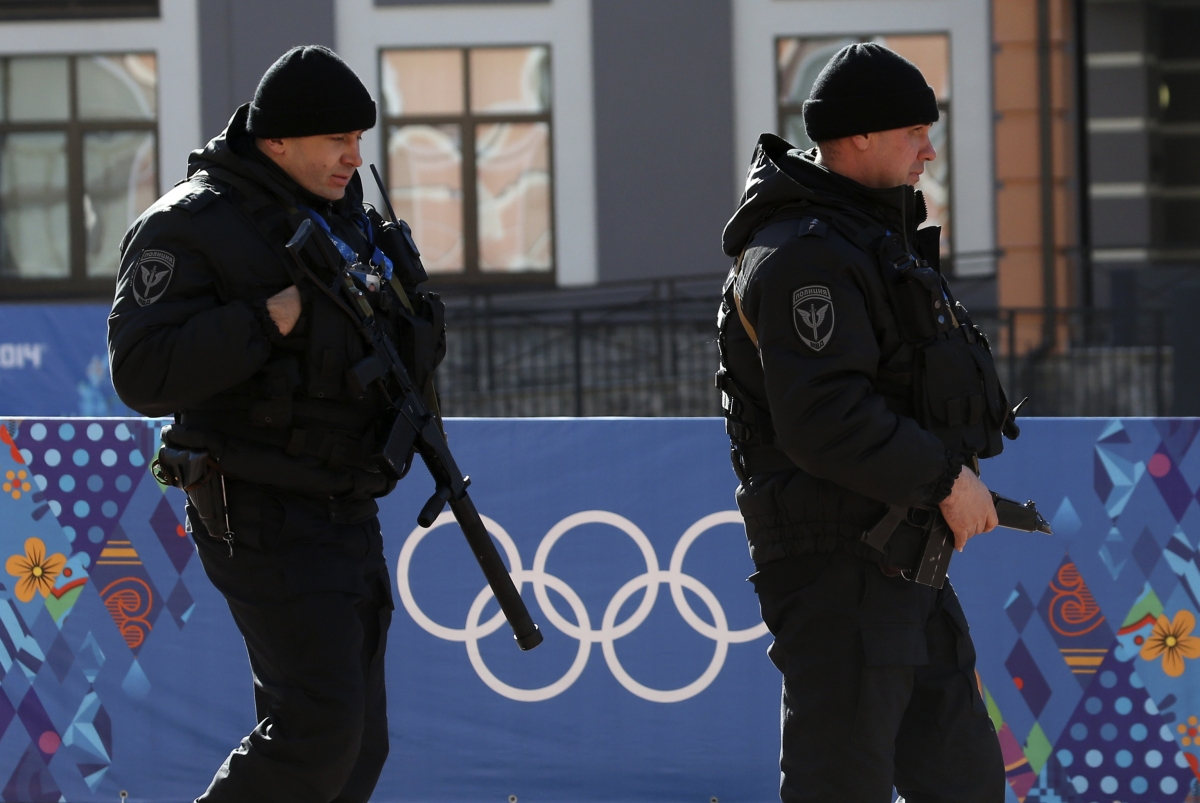 Sochi Winter Olympics security