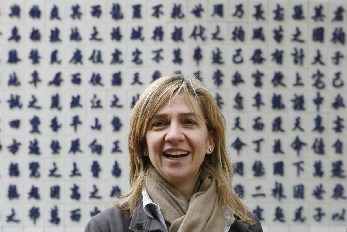 Princess Cristina was named as an official suspect for suspected tax evasion and money laundering