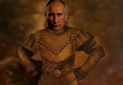 President Vladimir Putin Subject of Ridicule on Internet