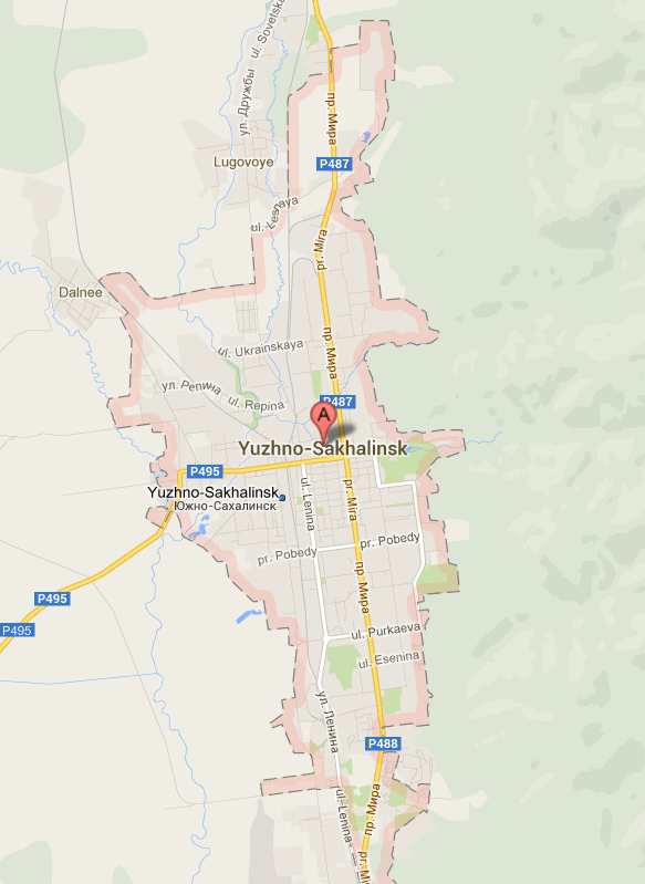 A gunman is being held in the city of Yuzhno-Sahlinsk for opening fire in a cathedral
