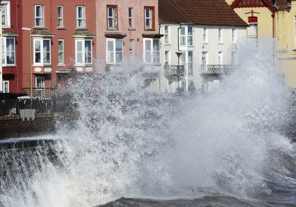 Dawlish storms