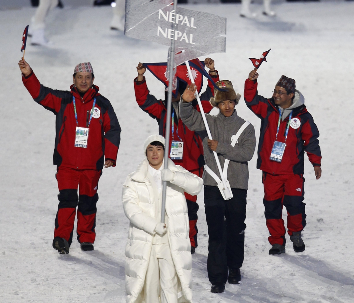 Dachhiri Sherpa of Nepal hopes to improve on his personal best of 92nd position in the cross-country skiing