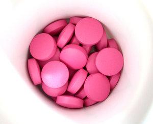 Little pink pills