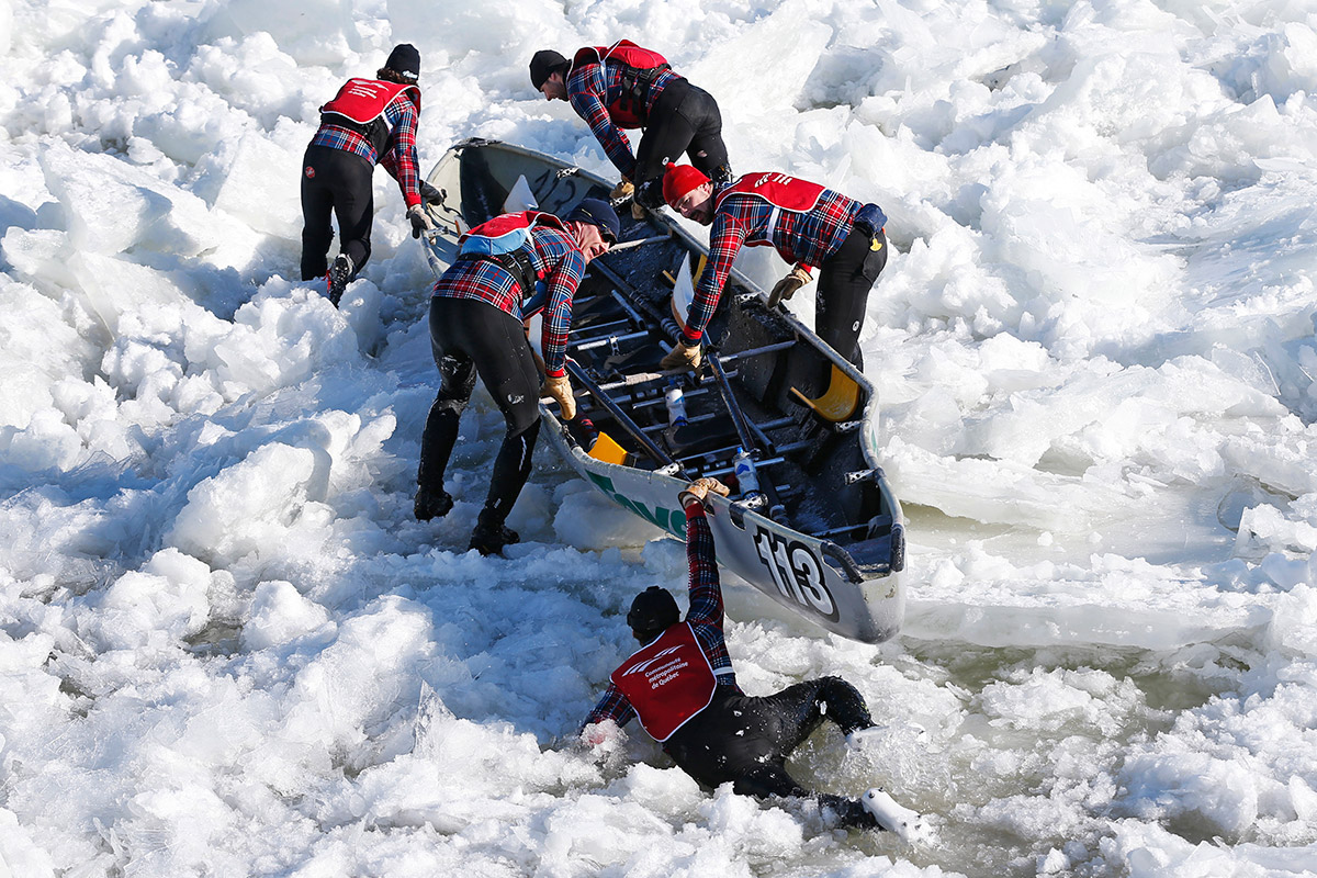 ice canoe