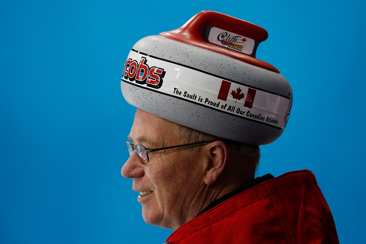 olympic curling hat