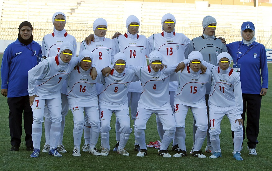 Genders tests after fears players in women's football team of Iran are in fact, men