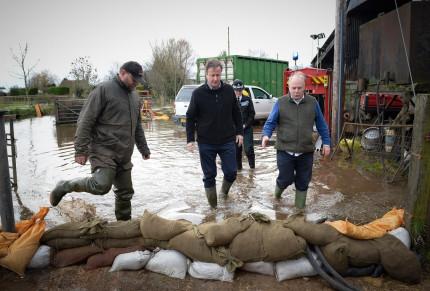 Cameron flooding