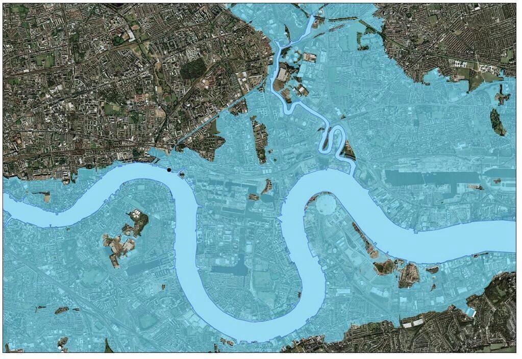 River Thames barrier