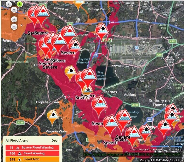 River Thames warnings