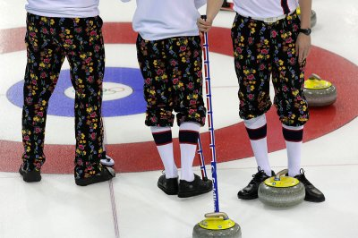 curling pants