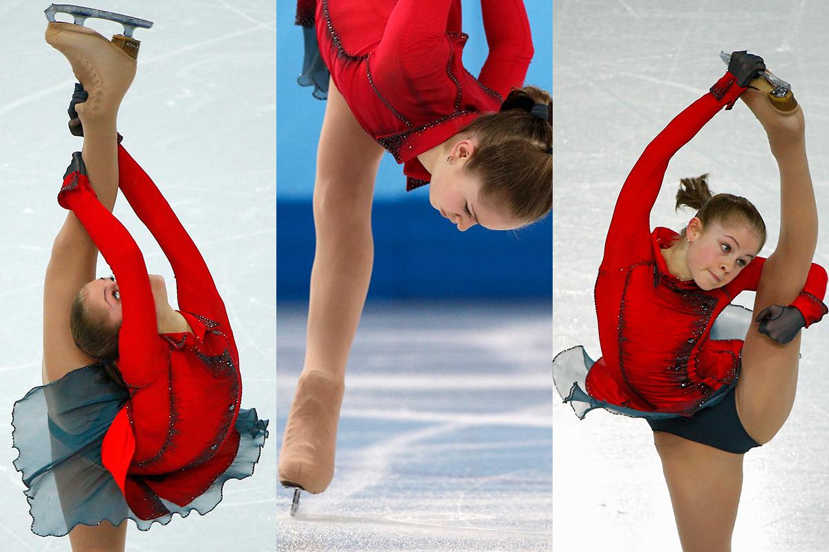 figure skating leg