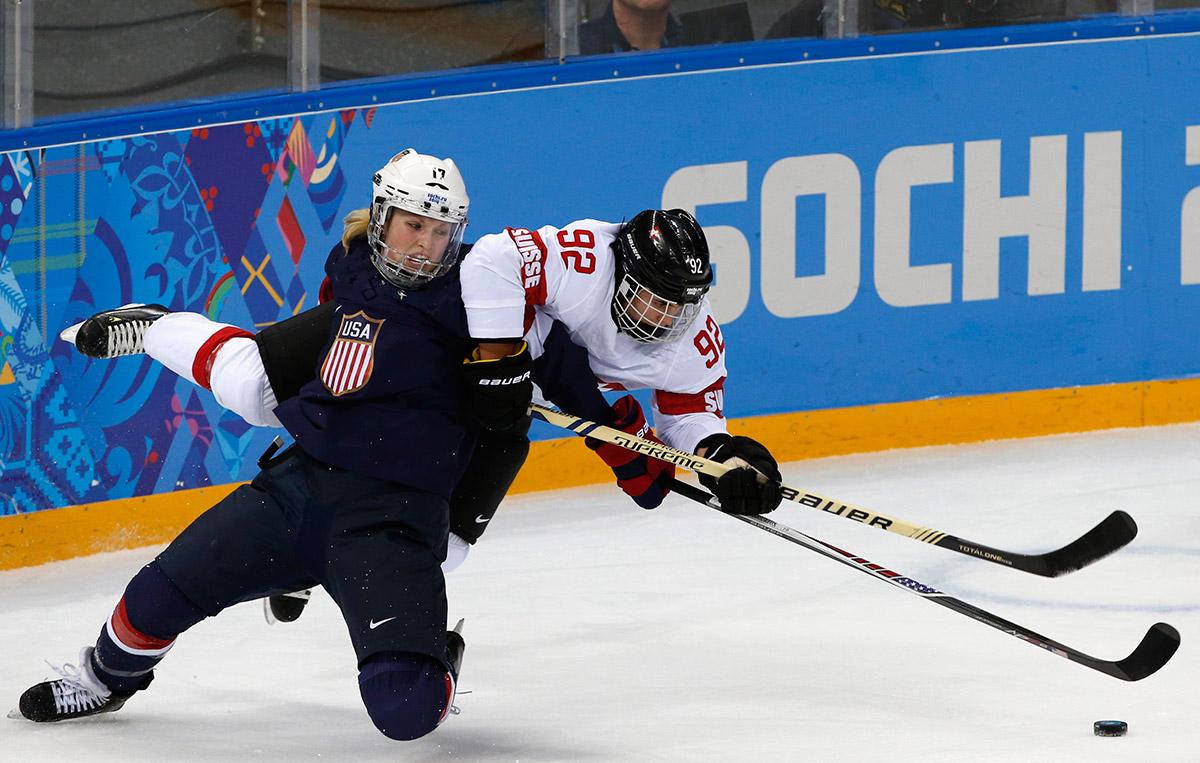 ice hockey compete