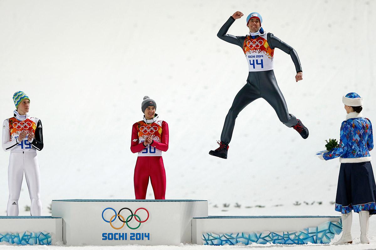 ski jump jump