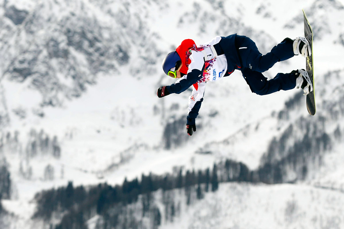 snowboard horizontal