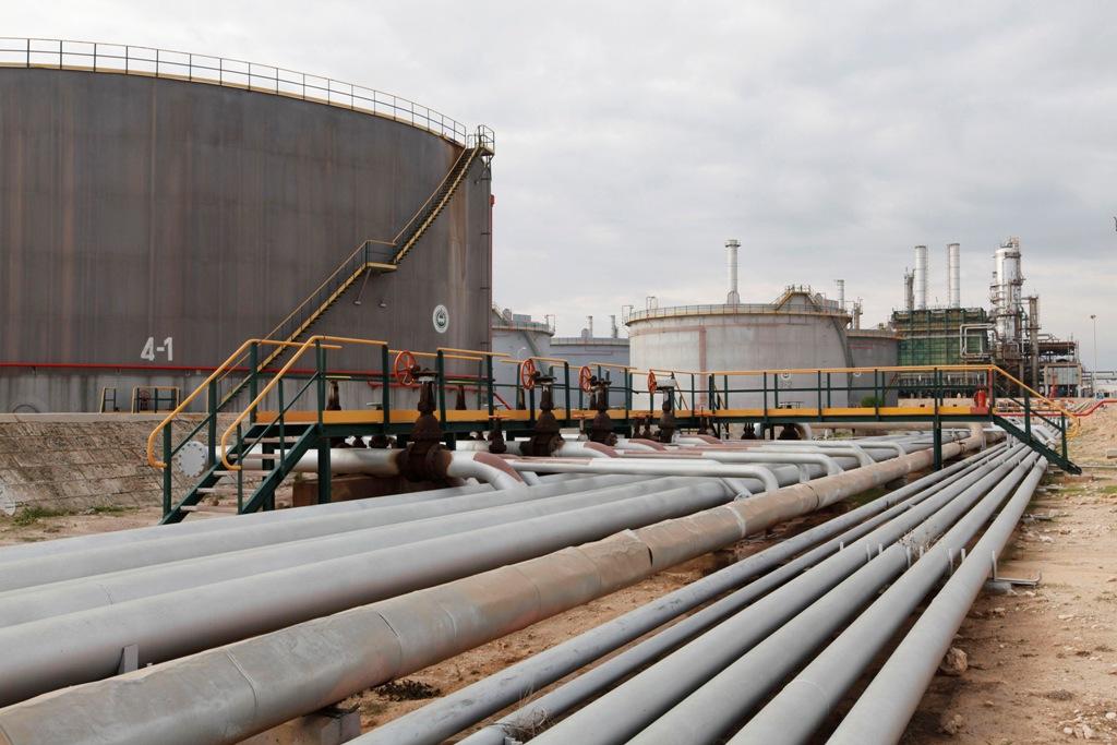 Zawiya Oil Refinery Libya