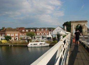 Marlow in Buckinghamshire: One of the wealthiesat towns in the UK