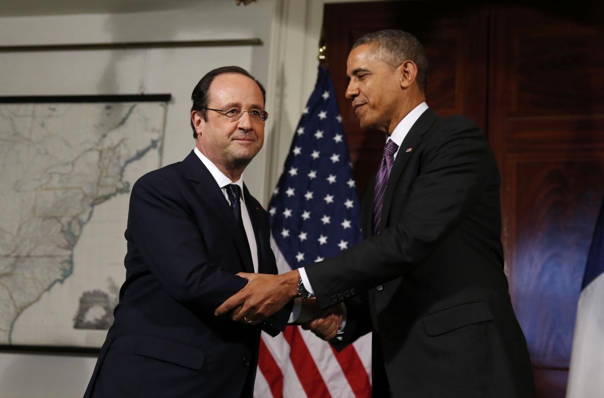 François Hollande's state visit to US