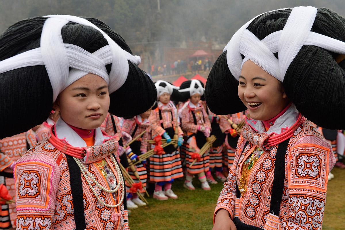 chinese hair