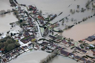 aerial town