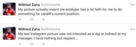 Zaha Tweets