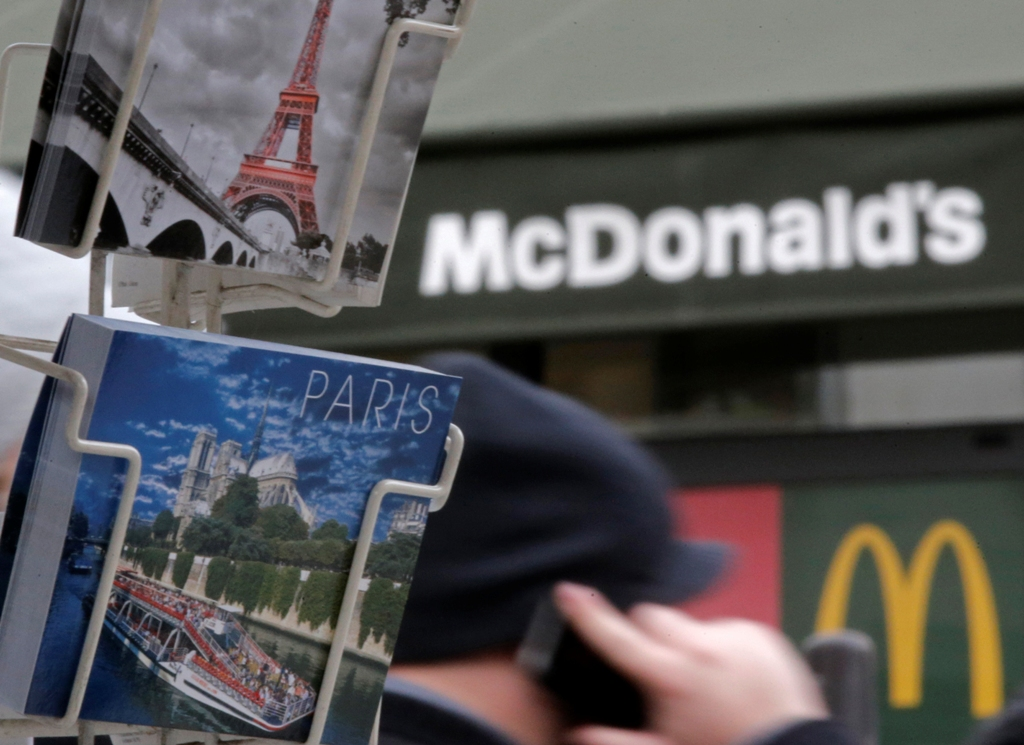McDonald's Paris France