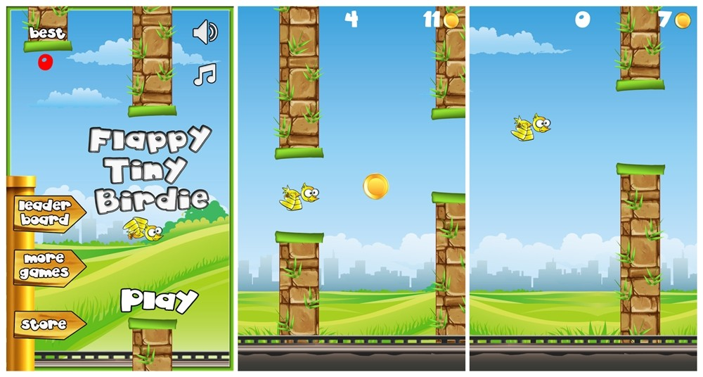 Image result for Flappy bird alternative games online