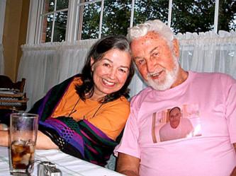 Edward Kular and Nina Discombe