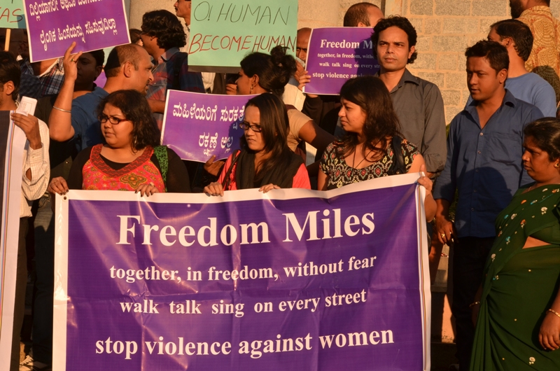 India protest against rape