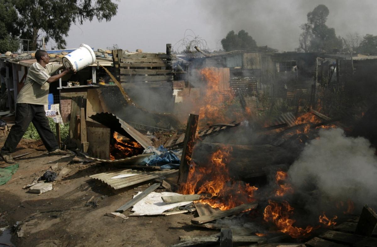 South Africa Mob Violence Rustenburg