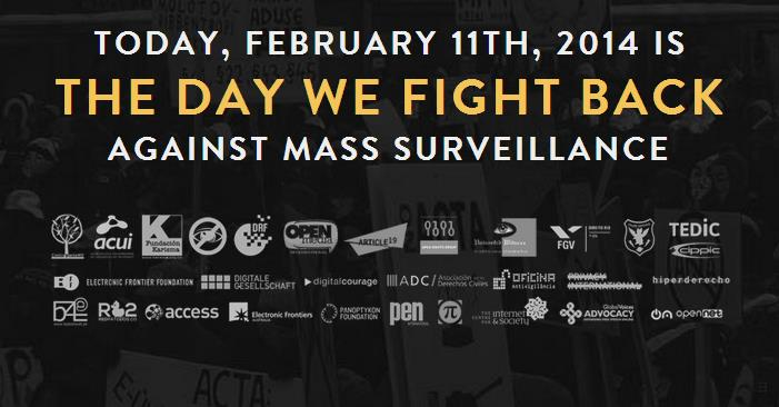 The Day We Fight Back protest