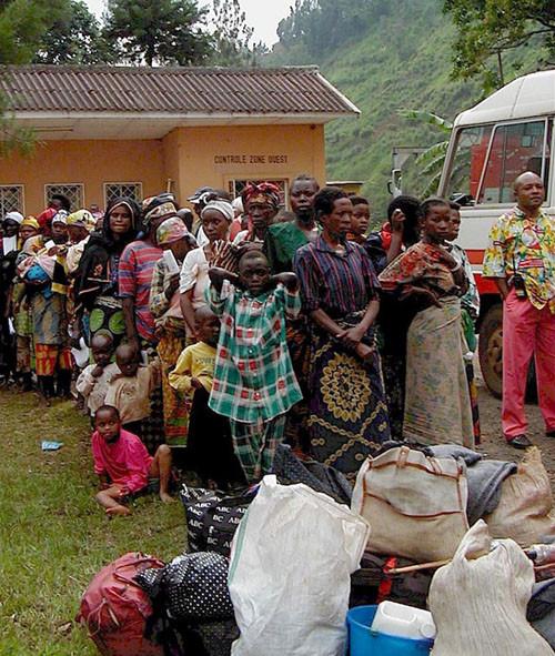 Congo rape victims