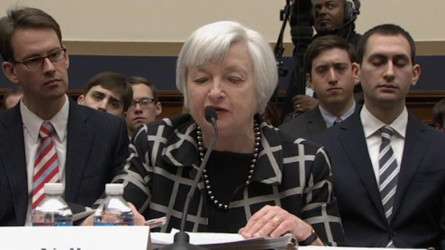 Yellen Says Labour Recovery Far From Complete