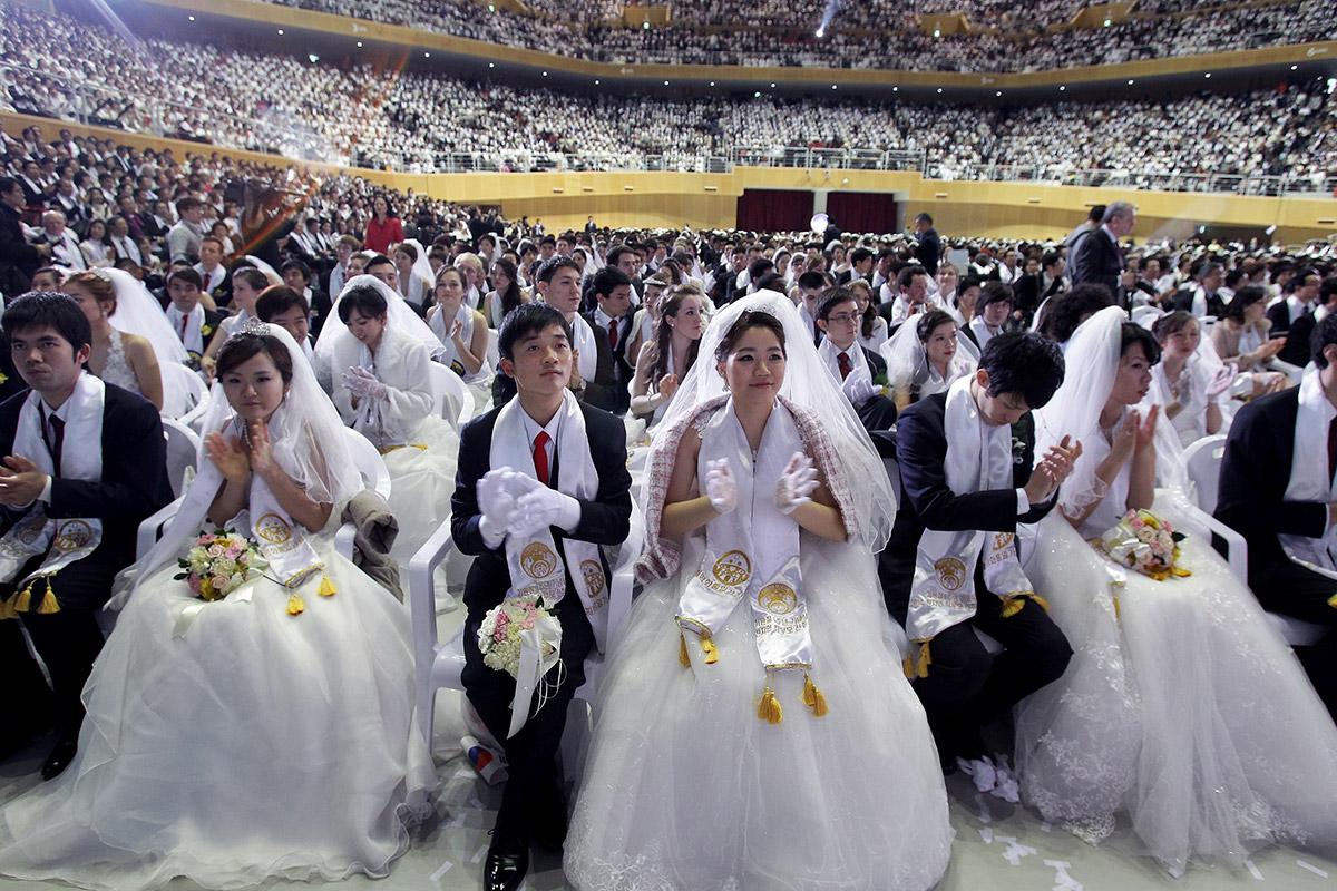 Moonies wedding