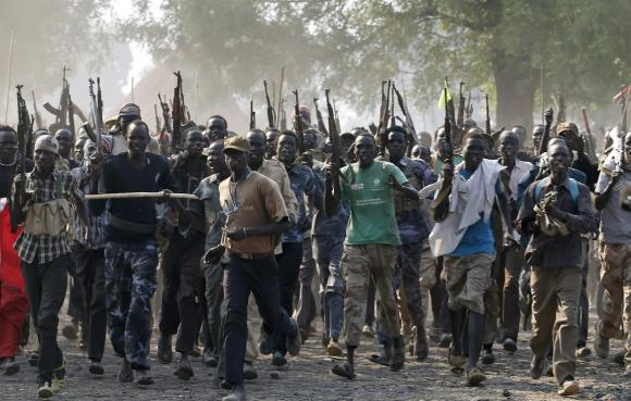South Sudan rebels