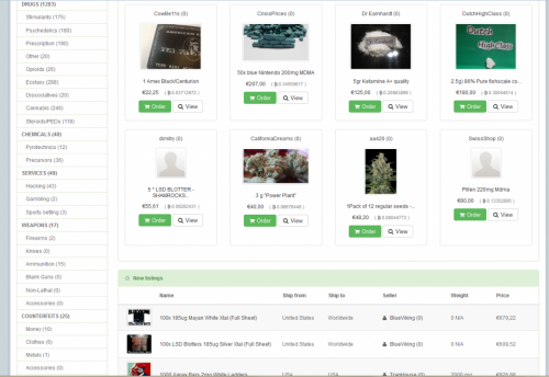 Utopia, an online deep web marketplace for selling illegal goods, has been shut down by Dutch police