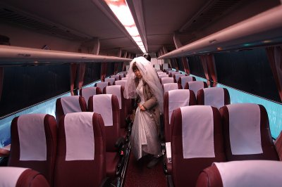 bus bride