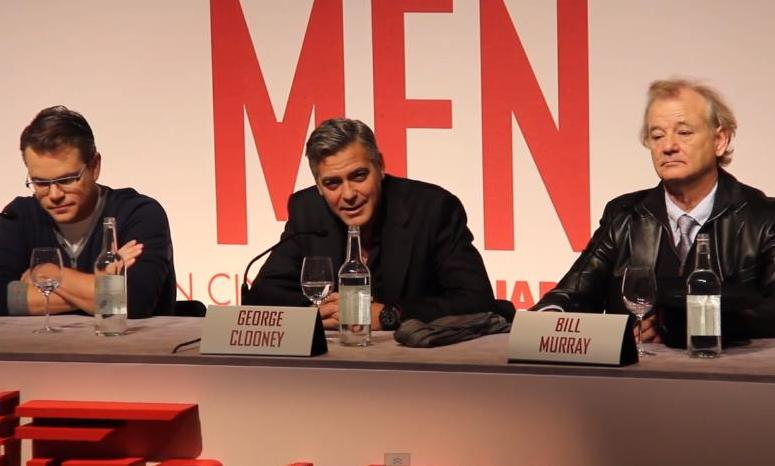 George Clooney Compares The Monuments Men with Batman & Robin