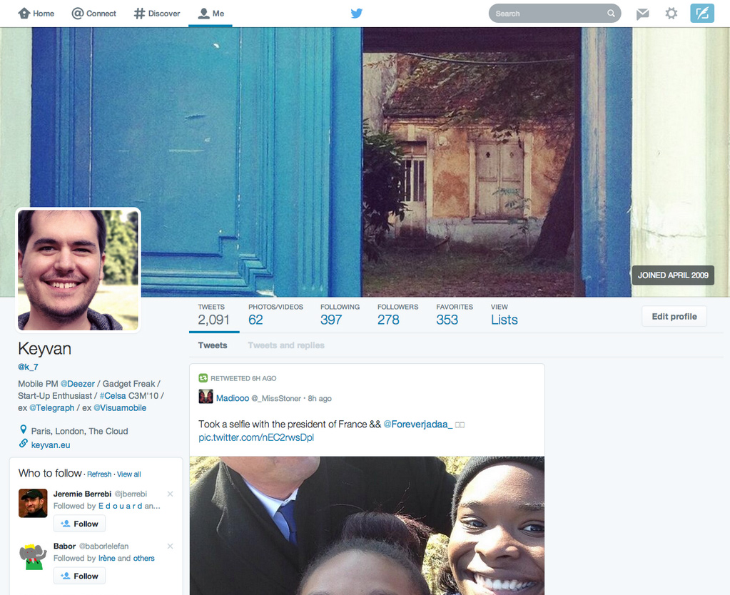 Twitter is testing a major redesign that would make the Twitter stream look a lot like Facebook Timeline and Google