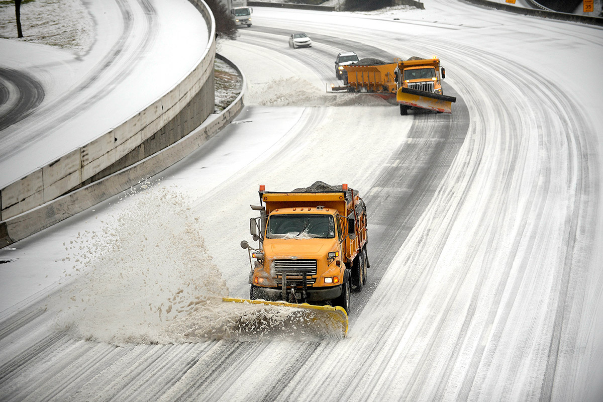 atlanta snow ploughs