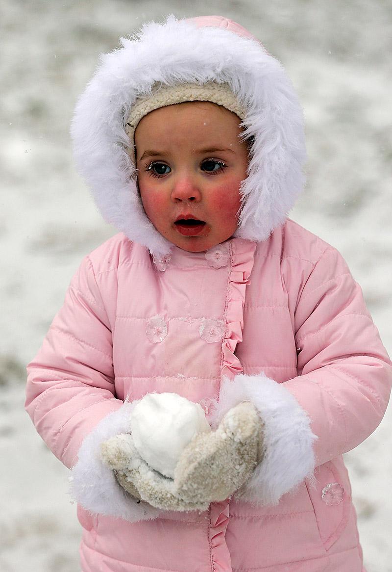 NC snowball girl