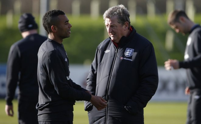 Ashley Cole Roy Hodgson England World Cup Squad