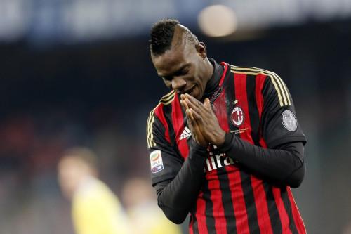 Balotelli Wenger Arsenal Summer Transfer AC Milan