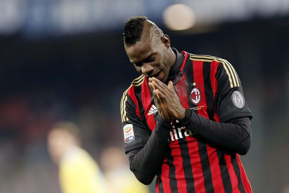 Balotelli Wenger Arsenal Summer Transfer AC Milan