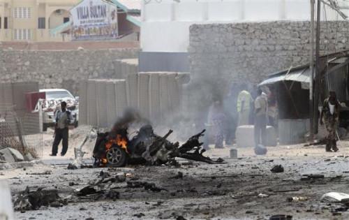 Car Bomb Somalia