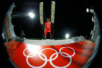ski jump take off