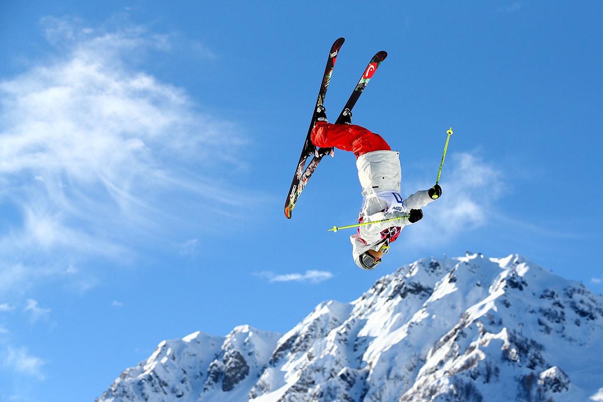 slopestyle somersault
