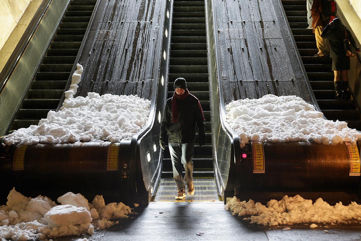 snow escalators