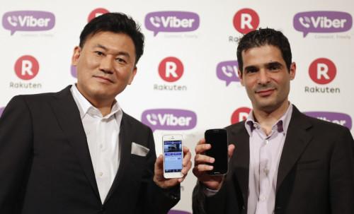 Messaging App Viber Purchased by Rakuten for $900 Million